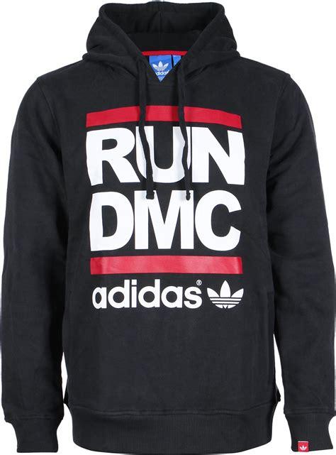 adidas run dmc hoodie schwarz
