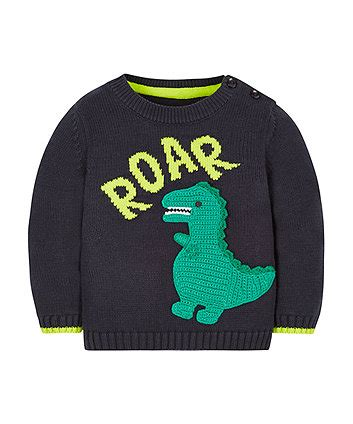 Mothercare Baby Jumper dinosaur jumper jumpers cardigans mothercare