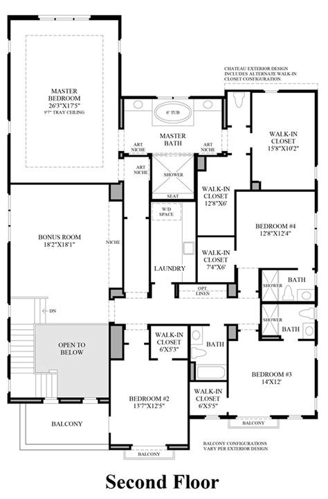 second floor plan ashbury at alamo creek the deerwood home design