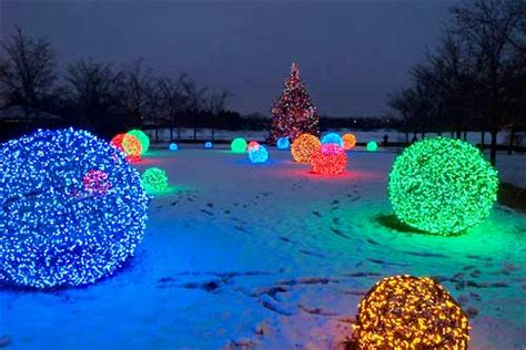Lighted Spheres Outdoor Light Spheres Outdoor 15 Festive Ways To Decorate Your House S Outdoor Warisan