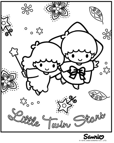 little twin stars images coloring page wallpaper and