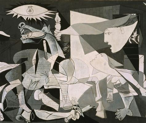 picasso paintings in reina sofia and deity painting guernica painters