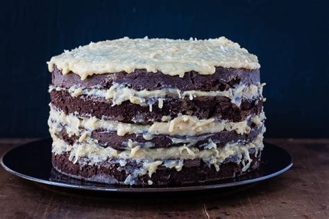 Test Kitchen The Internets Most Chocolate Cake by German Chocolate Cake America S Test Kitchen German