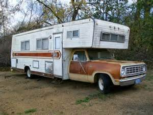 used rvs 1976 dodge midland motorhome for sale by owner