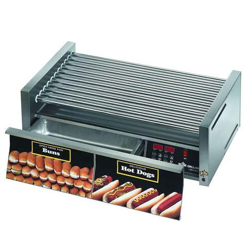 dog house grill prices star 50cbd 50 hot dog roller grill w bun storage slanted top 120v