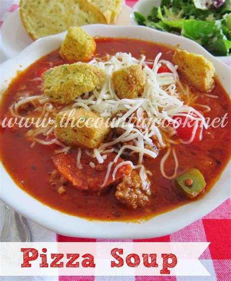 pizza soup the country cook