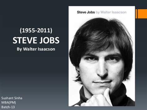 steve jobs biography chapter list book review steve jobs