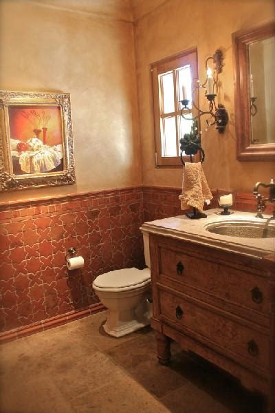 terracotta tiles bathroom great wainscot terracotta tiles interior design