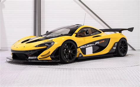 P1 Gtr by Mclaren P1 Gtr In Pristine Black And Yellow Will Cost You