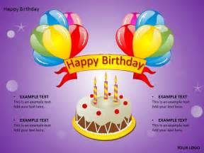 Happy Birthday Powerpoint Templates by Happy Birthday Cake Powerpoint Templates Ppt Backgrounds