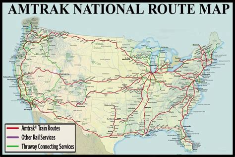 amtrak map texas capitol limited maps guide and railway information directory atdlines business car services