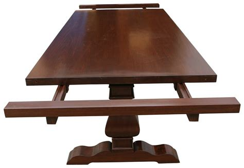 Handmade Trestle Tables - custom dining tables handmade from traditional trestle