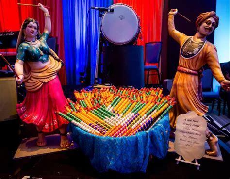 Colorful Chicago Gujarati Indian Wedding decor   Indian