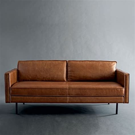 axel sofa axel leather sofa west elm
