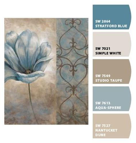 braune schlafzimmer farbschemata color palette sherwin williams chip it color palettes