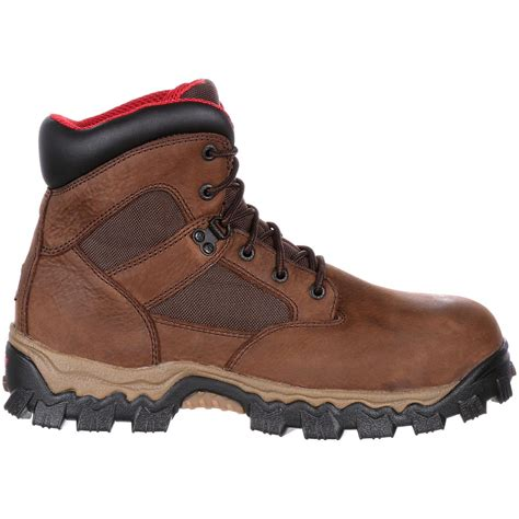 comfortable safety toe shoes comfort composite toe waterproof work boot rocky alphaforce