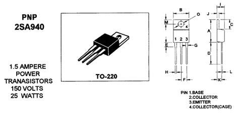 sa datasheet  pnp power transistor mospec
