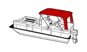 pontoon tops with sides pontoon bimini tops coversdirect 174