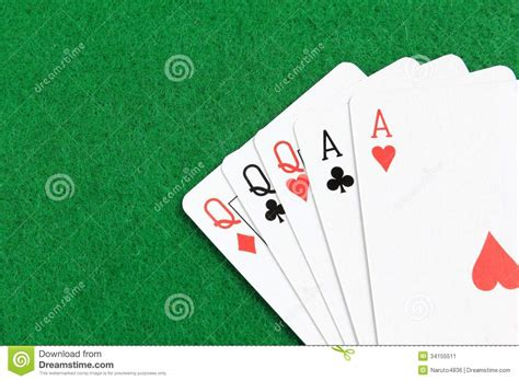 full house cards full house stock image image 34155511