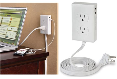 Desk Plugs by No More Crawling The Desk To Things In With The