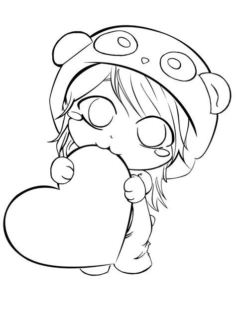 Chibi Panda Coloring Pages | chibi panda pages coloring pages