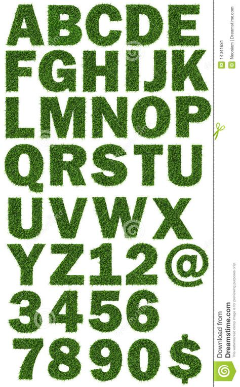 typography nature nature fonts stock image image 14041681