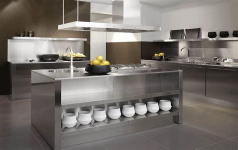 stainless steel kitchen designs stainless steel worktop ideas for interior
