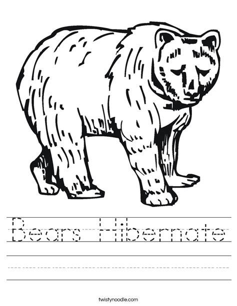 Hibernation Worksheets by Hibernating Animals Worksheet Www Pixshark Images
