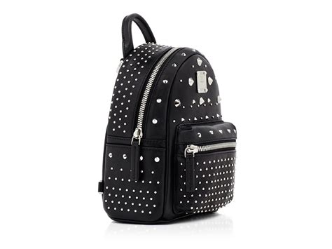 16 4 New Bag Swarovsky Ag005831 mcm special stark swarovski backpack in black lyst
