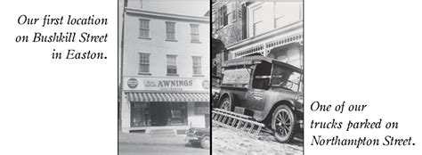 Awning Companies In South Jersey Kaplan Awninghistory Of Kaplans Historic Downtown Easton