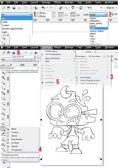 gambar desain zombie fantastik desain desain zombie dengan corel draw