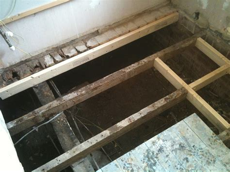 replacing floor joists from above floor matttroy