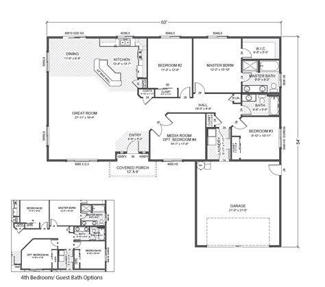 rambler floor plan gannon park home plan true built home pacific