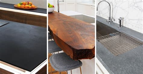 Made Countertop Materials by Kitchen Design Idea 5 Unconventional Materials You Can Use For A Countertop Contemporist