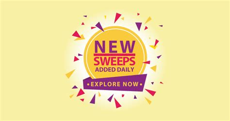 About Sweepstakes New - sweepstakes 2017 new online sweepstakes added in february 2017