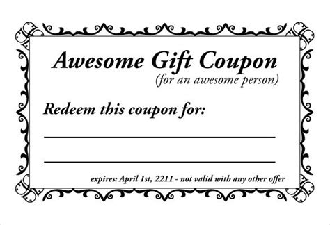 coupon maker free template make your own coupon template yspages