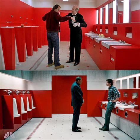 shining bathroom scene explained 12 haunting tv homages to the shining indiewire