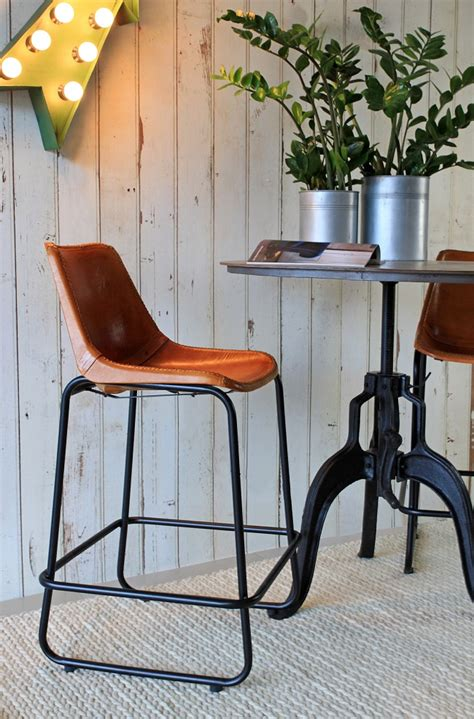 industries leather bar stool rockett st george uniquely eclectic interiors