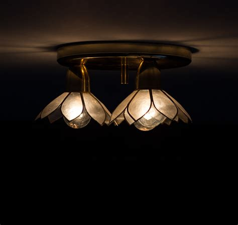 Lotus Ceiling Light by Lotus Flower Ceiling L Of Pearl Boulanger