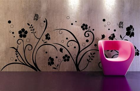wall design painting cool wall decals from wall tat
