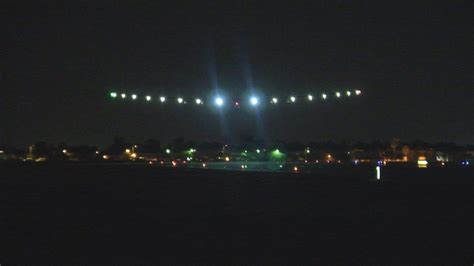 See The Solar Impulse 2 Solar Powered Airplane Arizona S Lights In Arizona