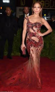 jennifer lopez s met gala gown has giant hole on the side