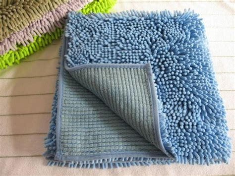 how to make a chenille rug micro fiber chenille rug bath mat set shaggy rugs hebei hualan carpet co ltd