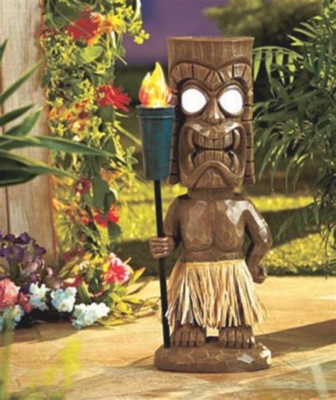 tiki garden decor house decor ideas