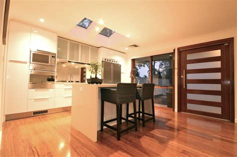 semi modern kitchen semi detached conversion modern kitchen sydney by