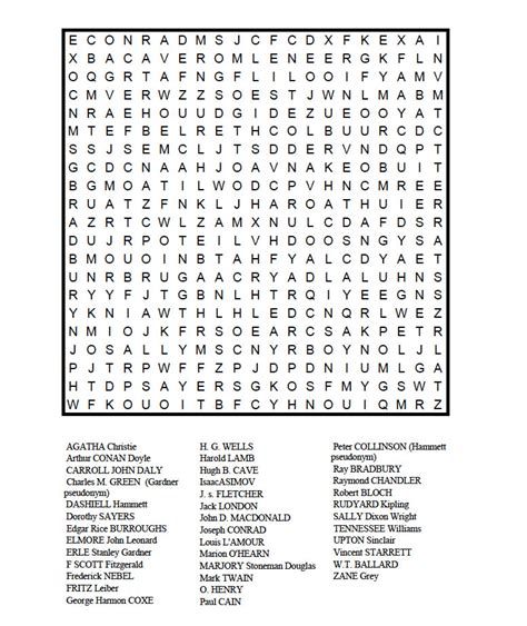 Magazine Word Search Millie S A For Mystery