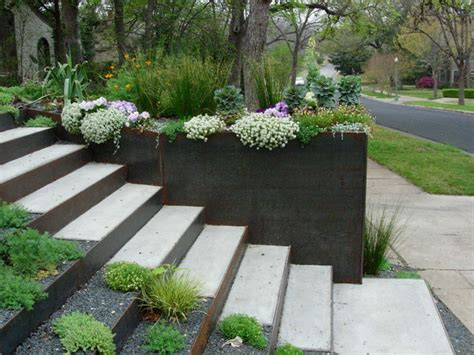 Raised Garden Beds Brick - steps