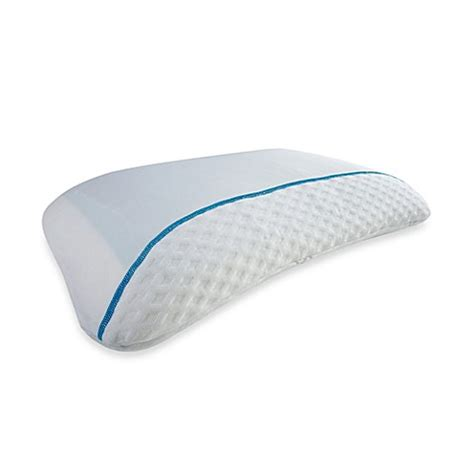 bed gear pillow bedgear 174 bg x react cool sleep pillow bed bath beyond