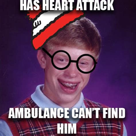 bad luck waldo bad luck brian know your meme