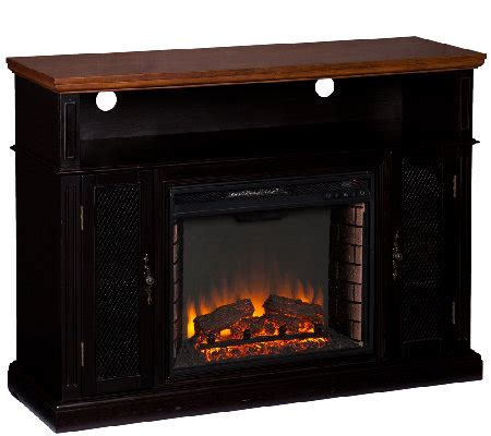 Marana Fireplace by Marana Media Console Electric Fireplace Qvc